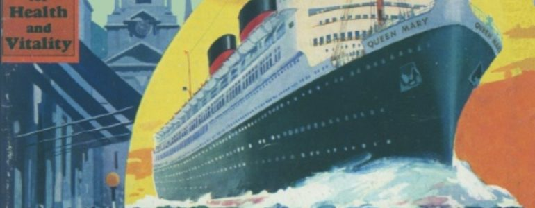 Churchill extols the Queen Mary