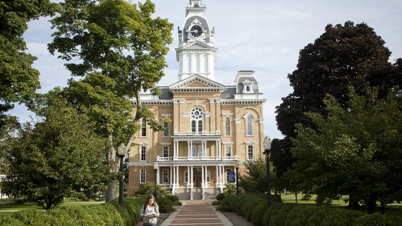 The Clock Tower in Hillsdale College