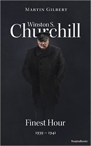 Winston S. Churchill by Martin Gilbert Vol. 6 Finest Hour