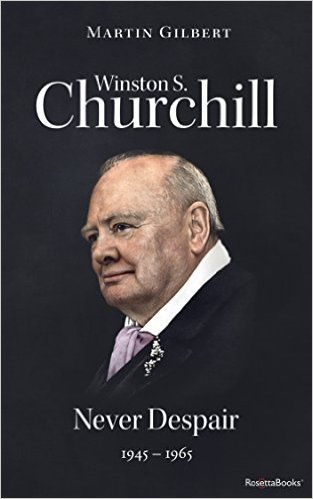 Winston S. Churchill by Martin Gilbert Vol. 8 Never Despair
