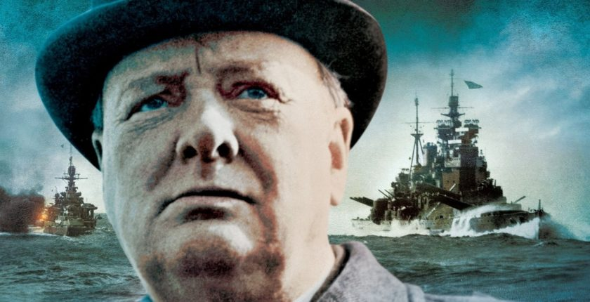 "From the cover of ""Churchill at the Admiralty"""
