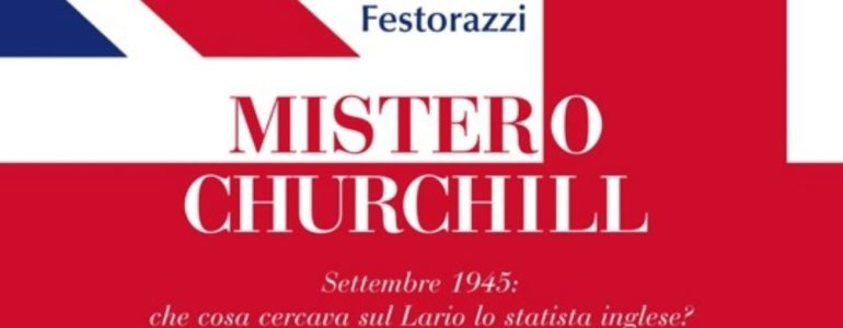 "From the cover of ""Mistero Churchill"""