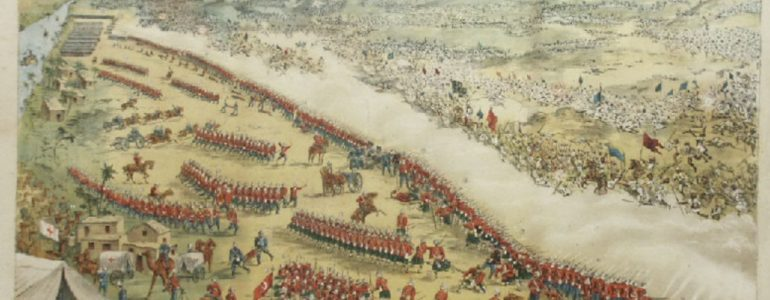 The battle of Omdurman