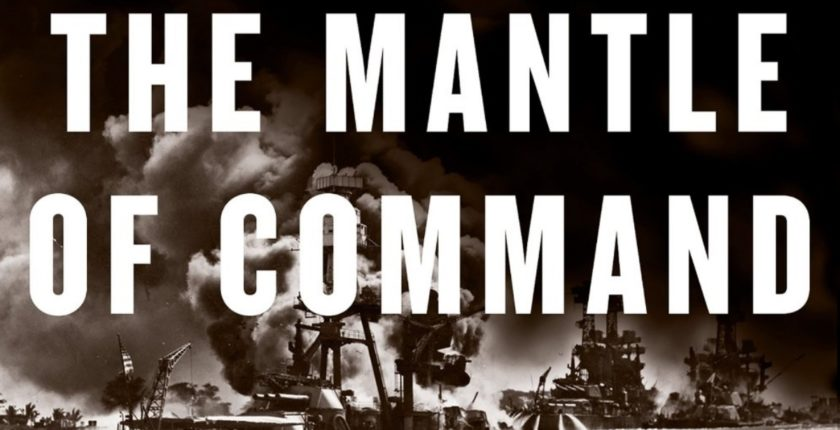 "From the cover of ""The Mantle of Command"""