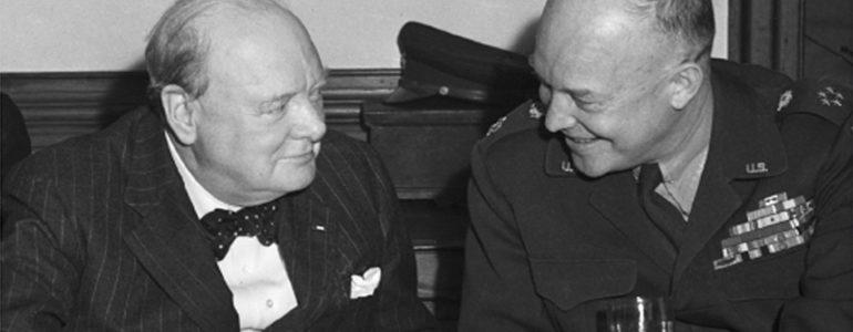 From the Cover of Churchill & Eisenhower