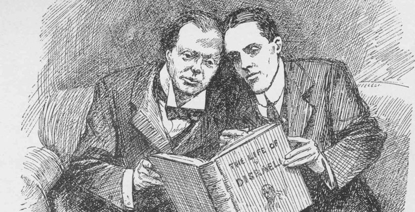 Young Churchill and F.E. Smith