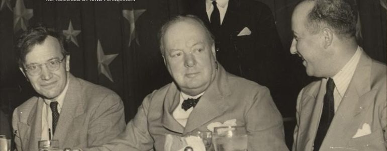 Churchill at the National Press Club