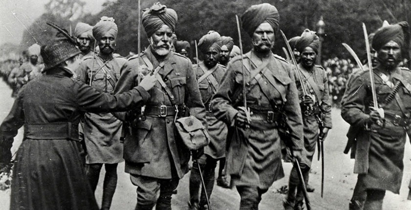 Sikh Soldiers in the Indian Army