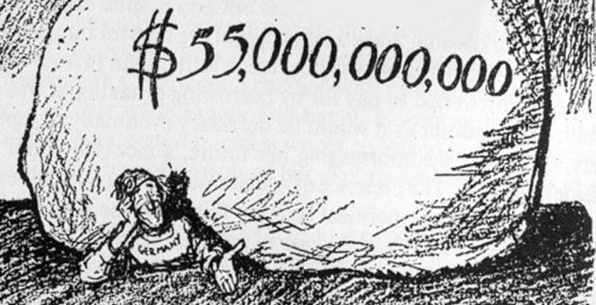German Reparations Comic (Times 1932)