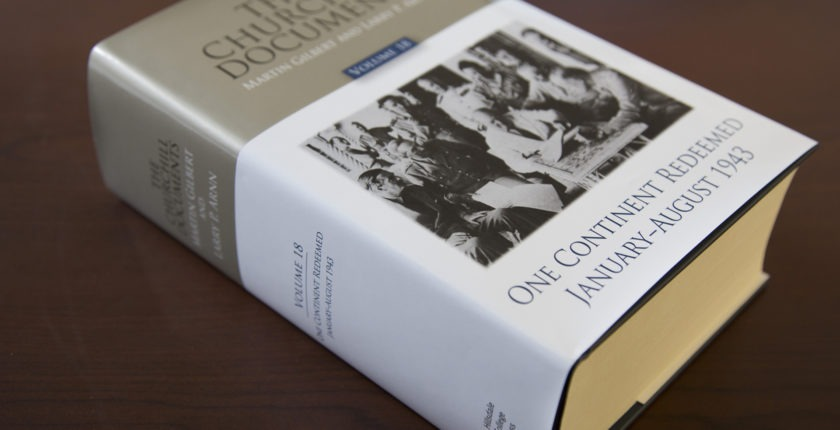 The Churchill Documents, volume 18, One Continent Redeemed
