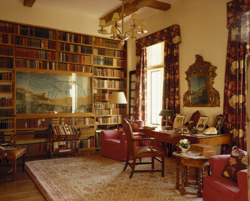 Library at Chartwell
