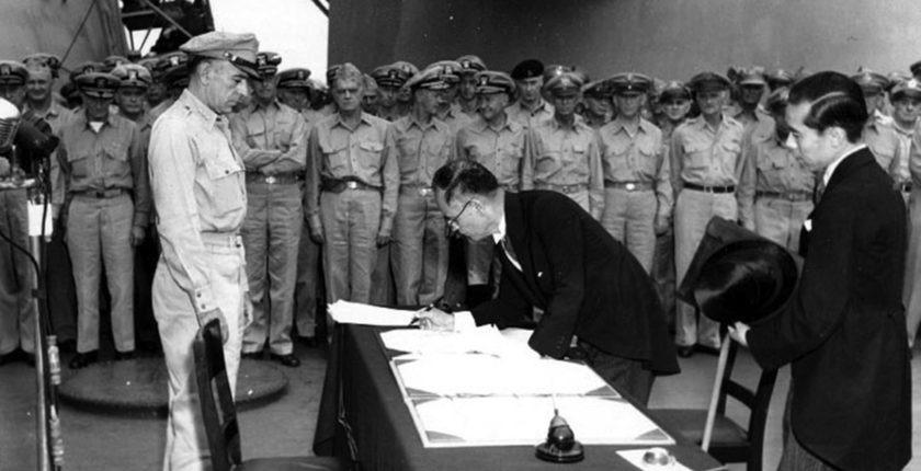 USS Missouri: Surrender of Japan