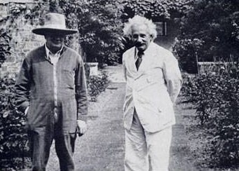 WSC and Einstein 1933