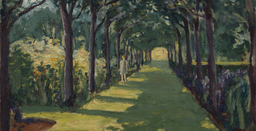 An Avenue at Frinton-On-Sea, Essex; with Miss Diana Churchill