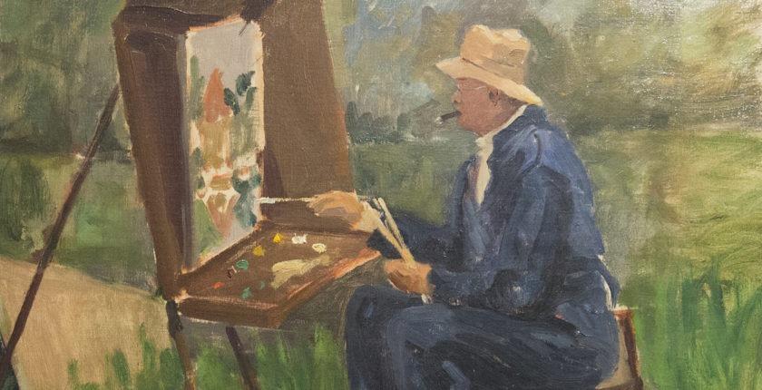 Paul Maze painting