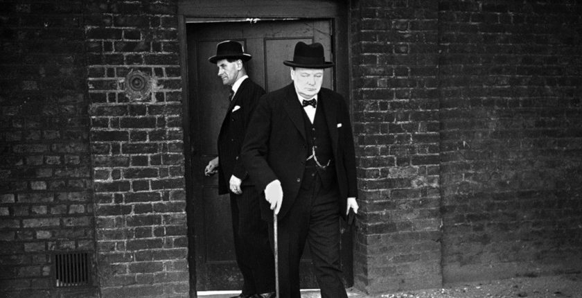 winston churchill height