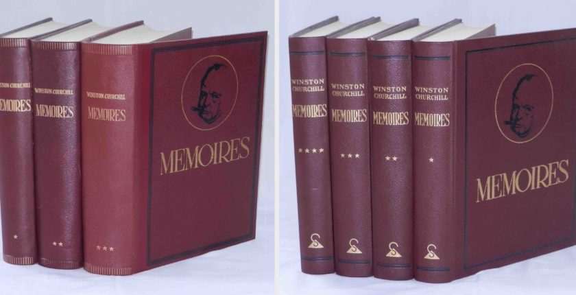Memoires of Winston Churchill, various editions