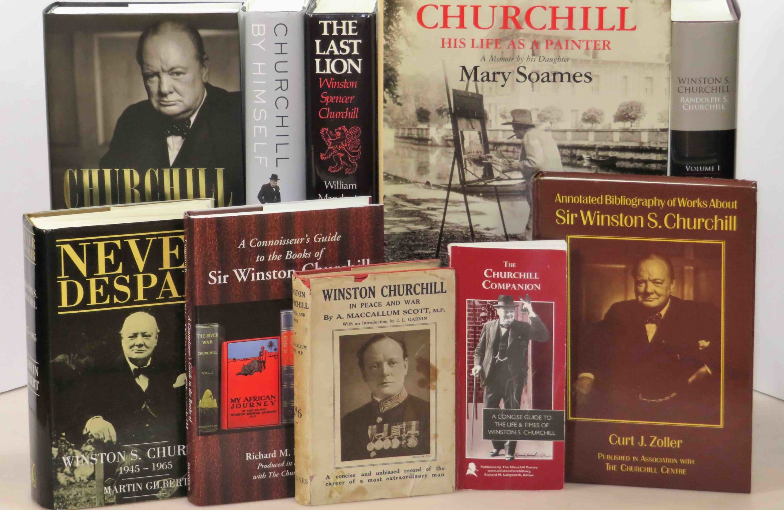 1100 Titles An Annotated Bibliography Of Works About Winston Churchill